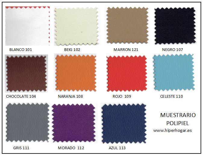 Silla capitone tela o polipiel - Tela microfibra para tapizar ...