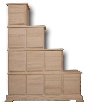 Mueble escalera 10c - Muebles al natural ...
