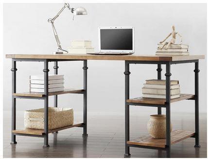 Mesa escritorio industrial carras for Escritorio industrial vintage