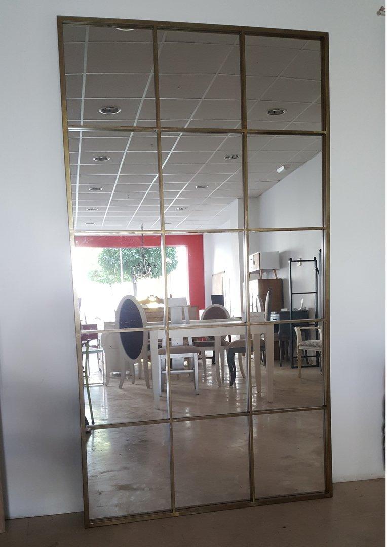 Espejo cuarterones 100x200 for Donde venden espejos
