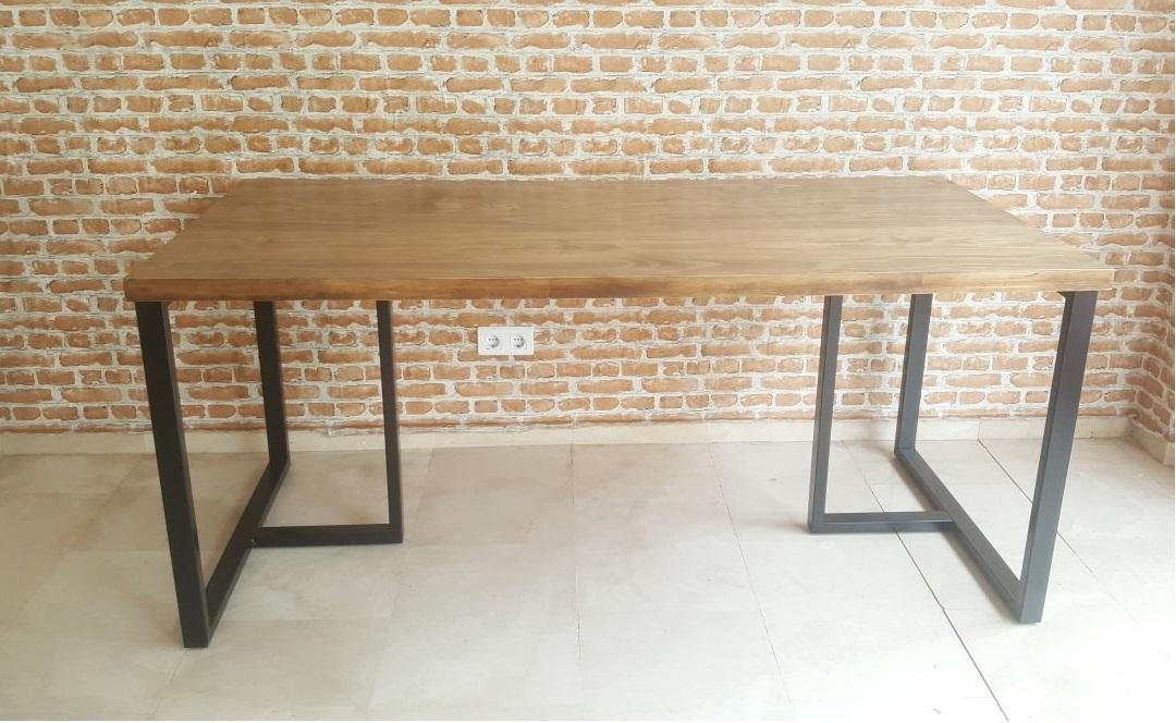 Mesa comedor industrial ALMUDENA - hiperhogar.es