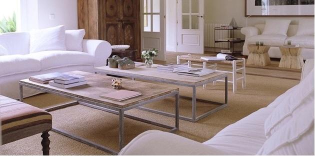 Muebles l mparas moquetas y alfombras - Funda sofa blanca ...
